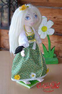 Авторская текстильная кукла от NatalKa Creations