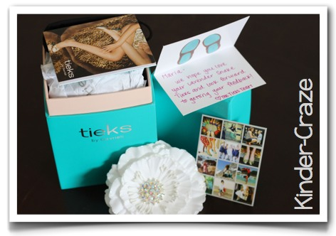 Tieks designer flats packaging
