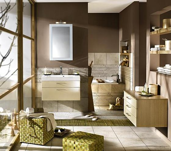 Brown Bathroom Paint Color Ideas