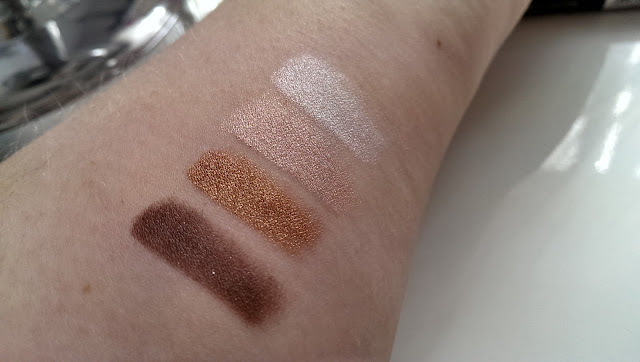 Arm swatches of the NYC Quad