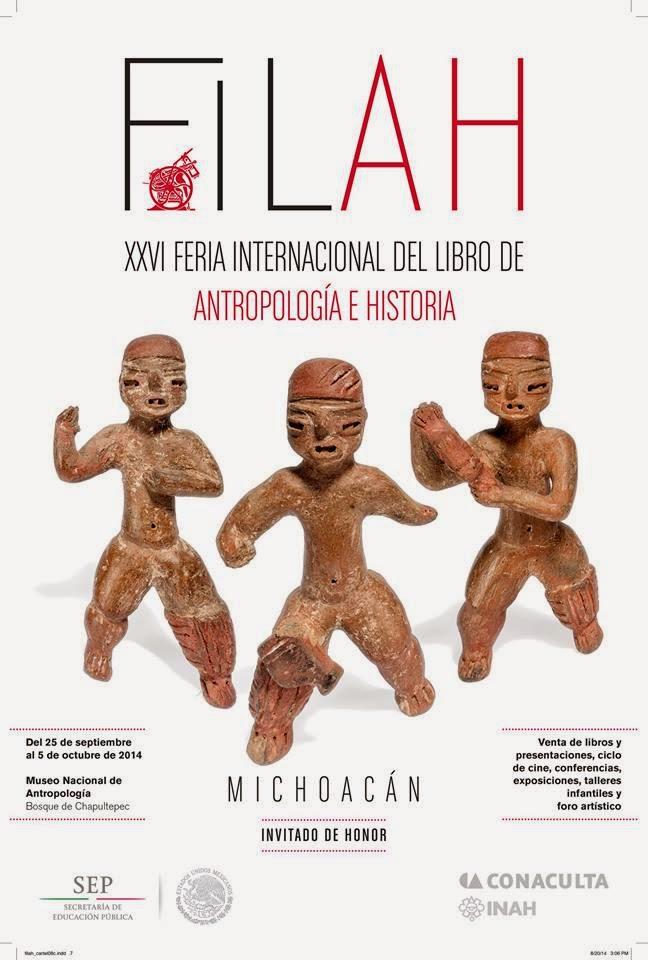 Feria Internacional del Libro de Antropología e Historia 2014