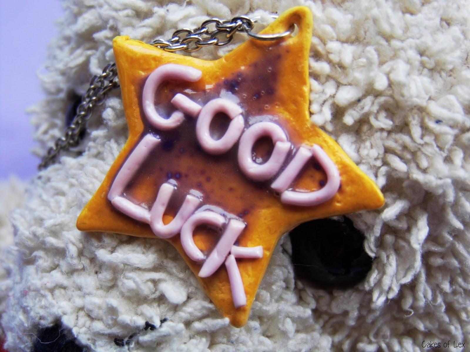 Good Luck!- naszyjnik
