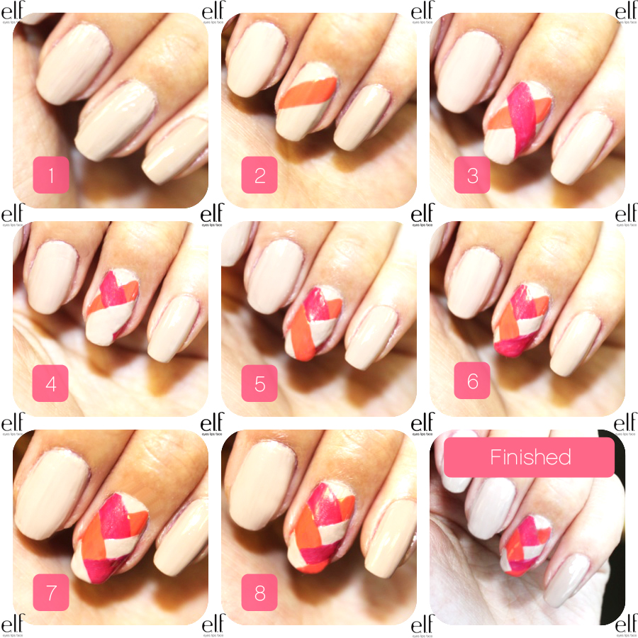 nail art step by step.