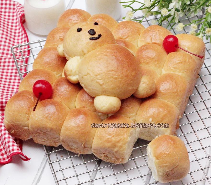 Aneka Roti yg dibuat dengan MIXER BOSCH MUM6N11/Universal Plus