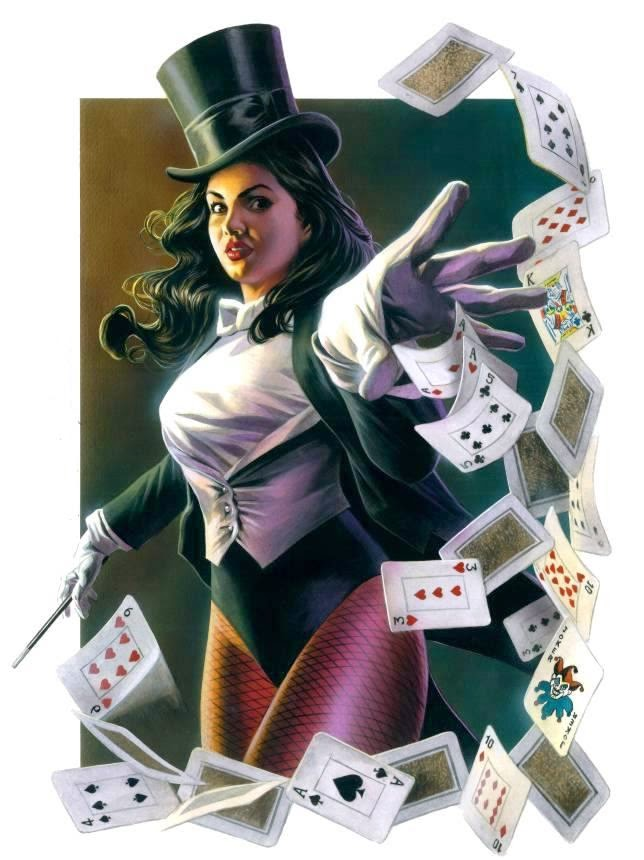 Zatanna DC Comics Fictional Character, Showing magic 3