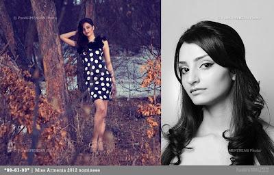 Miss Armenia Hayastan Միսս Հայաստան 2012 Tatyevik Samsonyan
