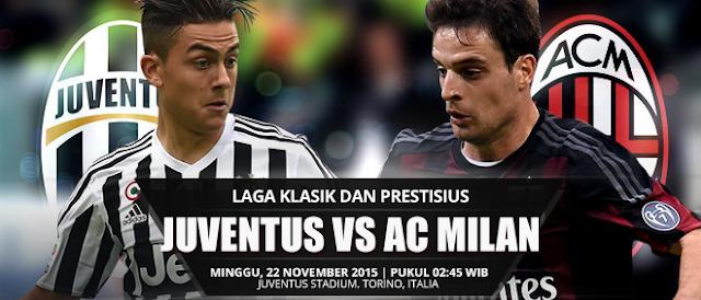 Bigmatch Juve vs Ac Milan