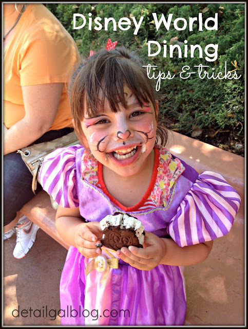 WDW DINING TIPS & FAVORITES