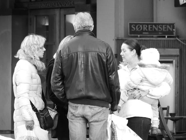 Street photo Bergen