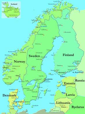 Souvenir Chronicles TALLINN ESTONIA - Where is estonia
