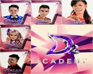 Semua lagu konser final D'Academy 2 grup 1 untuk hari 1 dan hari kedua
