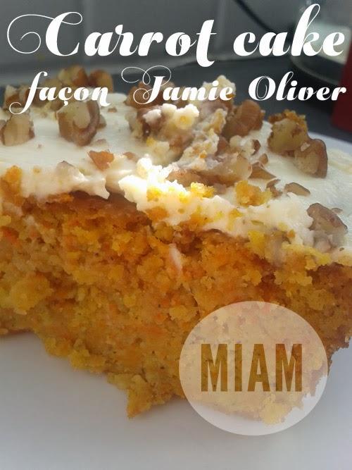 Carrot Cake Recette Jamie Oliver