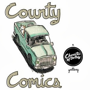 County Comics - Cartoons, Strips and Scenes Set In Prince Edward County, Ontario