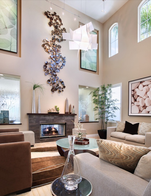 Opciones para decorar salas modernas y amplias dise o y for Adornos para salas modernas