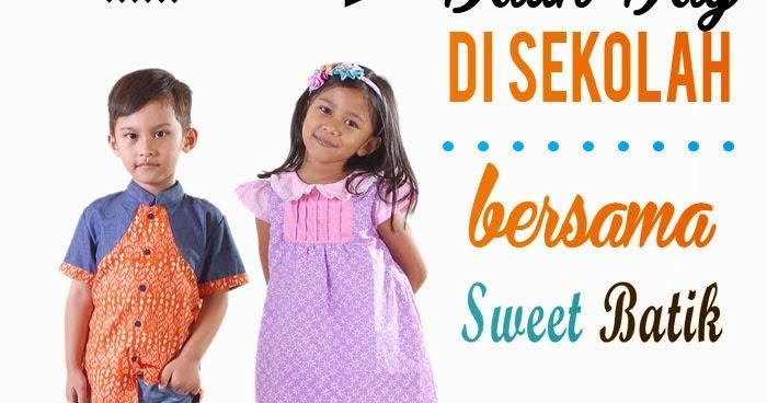Sweet Batik: Batik Days di Sekolah Bersama Sweet Batik
