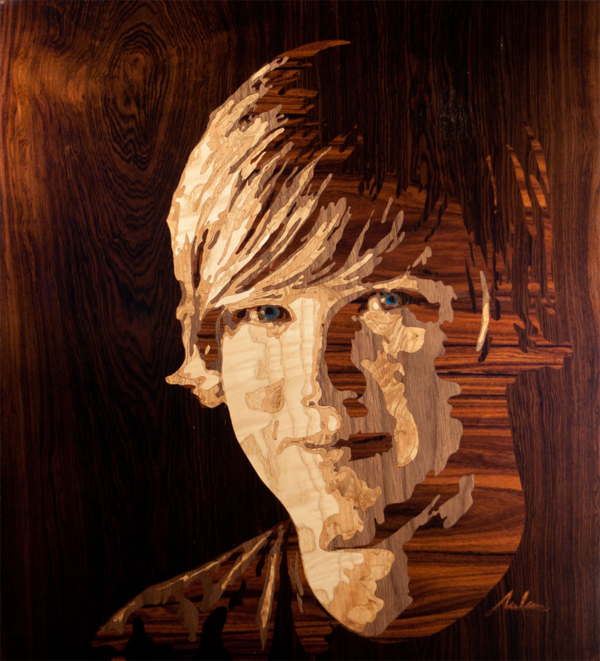 pics the wood veneer paintings of rob milam.