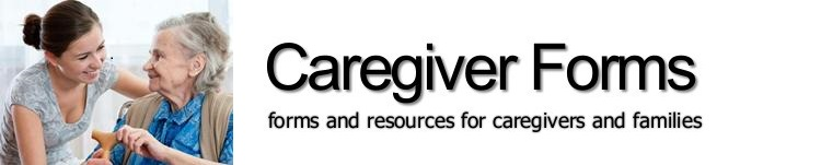 Caregiver Forms