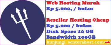 Web Hosting dan Reseller Termurah