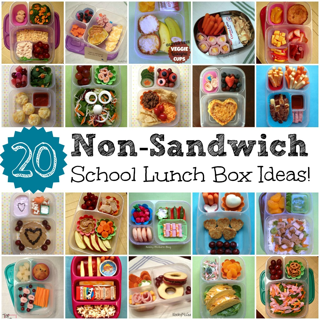 gluten free allergy friendly lunch made easy 20 non sandwich school lunch ideas for kids. Black Bedroom Furniture Sets. Home Design Ideas