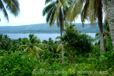 Top view of Samal