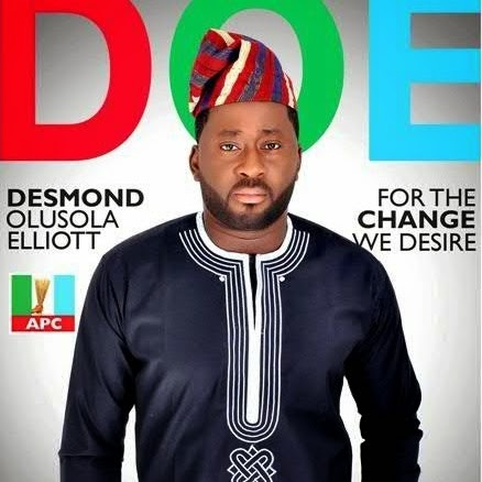 desmond elliot wins elections