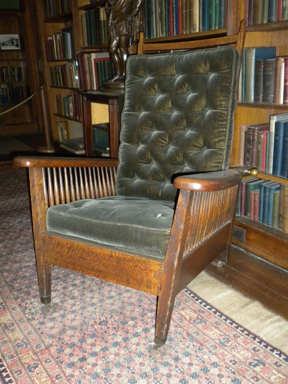 The Story Of A House Museums Features Iconic William Morris Chair - William morris chairs