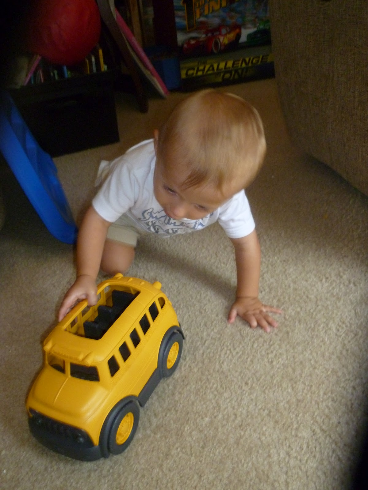 Toys For School : Green toys school bus toy review giveaway mama to