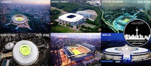 PES 2016 Stadium StartScreens V1