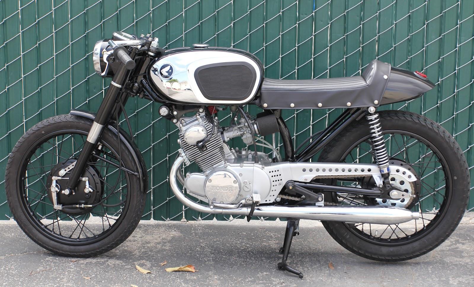Milchapitas Kustom Bikes Honda CB160 1965 By Lossa
