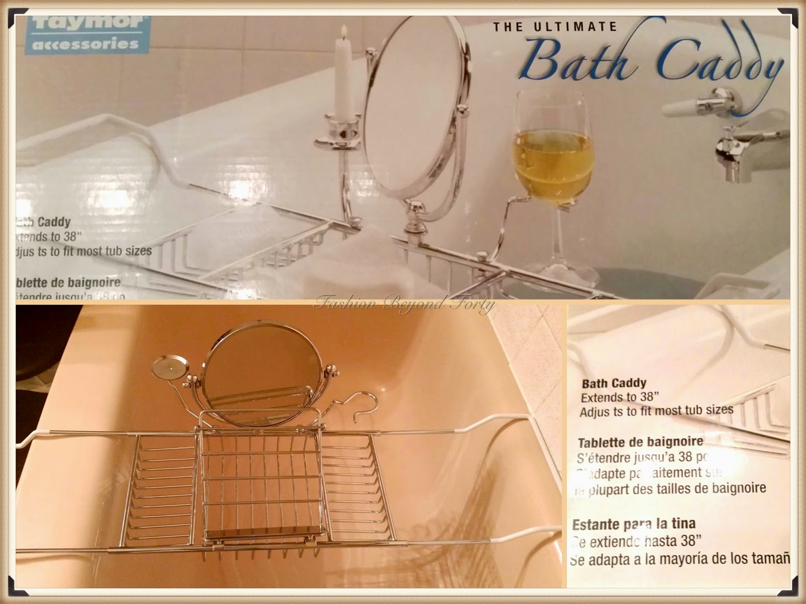 Fashion Beyond Forty Happiness Is a Bath Caddy