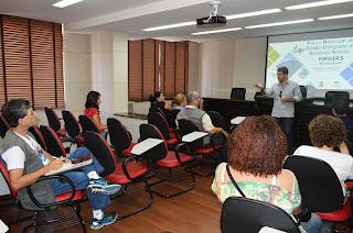 Secretário de Meio Ambiente Eduardo Niebus: participação da população é fundamental para que o Município tenha um plano de excelência