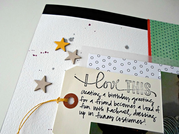 journaling on tags