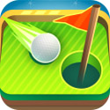 Mini Golf MatchUp Icon Logo
