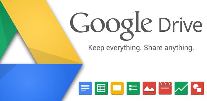 logo google drive menyimpan file gratis di internet