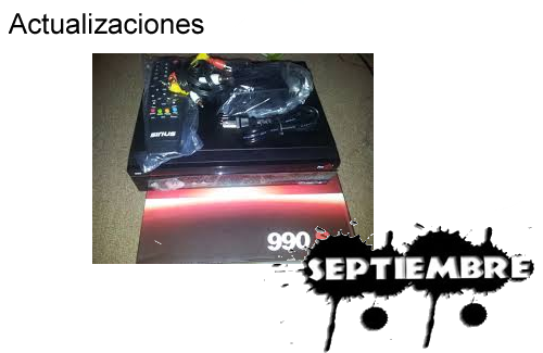 Actualización Probox 990 09 Septiembre 2013
