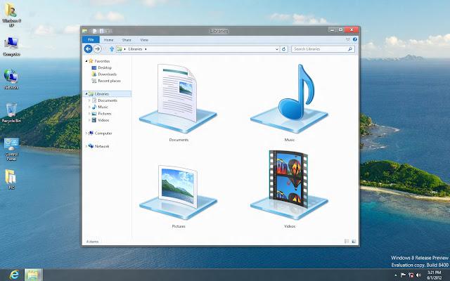 Bản Ghost Windows 8 Enterprise RTM x64 Nosoft  3