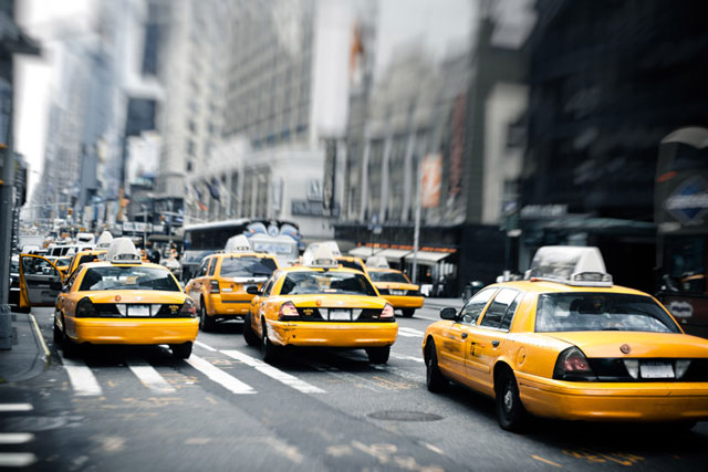 Los taxis en New York