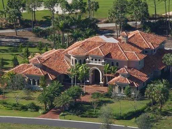 Homes Mansions Tuscan Style Mansion For Sale In Palm Beach Gardens