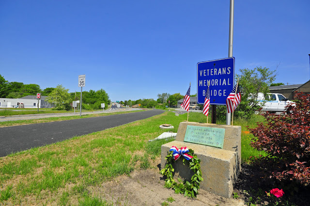 Veterans Memorial Bridge South Portland Maine May 2012 by Corey Templeton