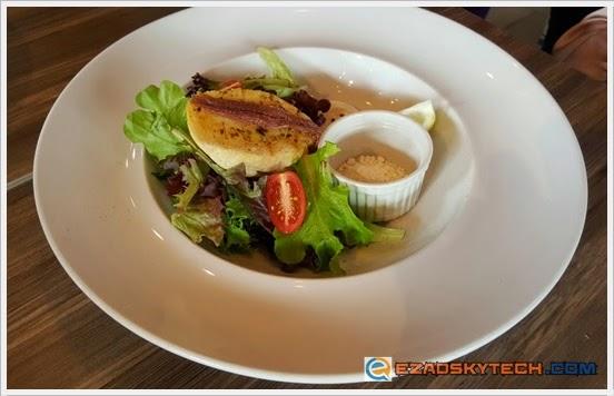 Deconstructed Caesar Salad U-Cafe Wangsa Walk
