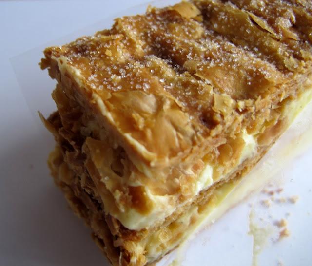 Les pâtisseries de Sébastien Gaudard - millefeuille
