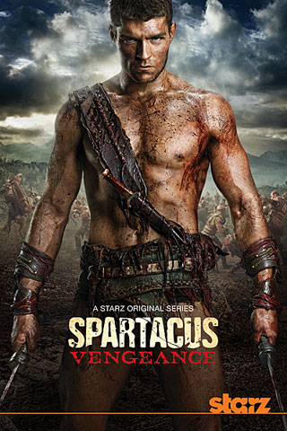 spartacus vengeance poster Download   Spartacus Vengeance 2ª Temporada RMVB Legendado