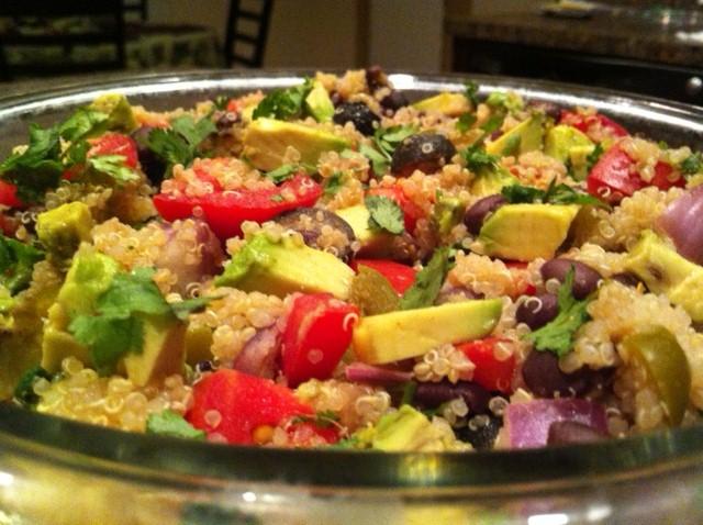 NomEatNom - Quinoa Taco Salad