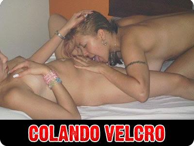 Sbica Nuas Namorando Se Beijando Colando O Velcro Pelada Gls
