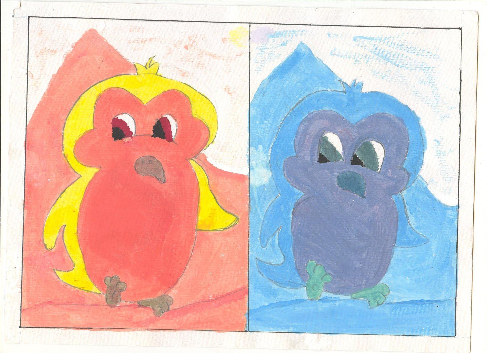 Plastica colores c lidos y frios - Paisaje con colores calidos ...
