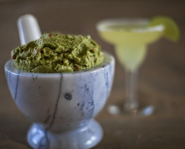 Healthy Chunky Guacamole Recipe  | Becky Cooks Lightly #healthy
