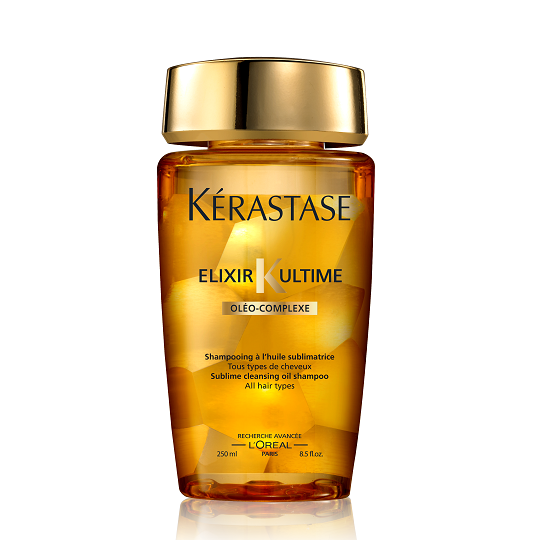 Kerastase elixir ultime 24k gold shampoo and masque my for Kerastase bain miroir shine revealing shampoo