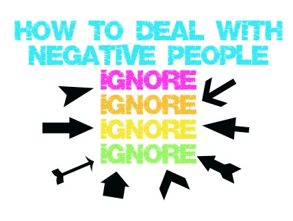 Kandeej com how to deal with negative people