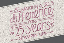 "25 jaar Stampin""Up!"