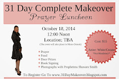 Register For the 31 Day Complete Makeover Prayer Luncheon